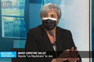 Marie-Christine Dalloz était l'invité de « Questions d'actualité, le debrief » sur LCP